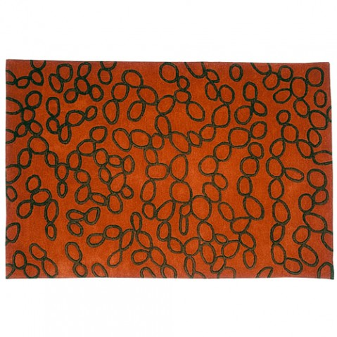 tapis ovo 170 nanimarquina orange