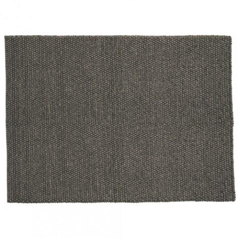 tapis peas 140 200 hay gris fonce