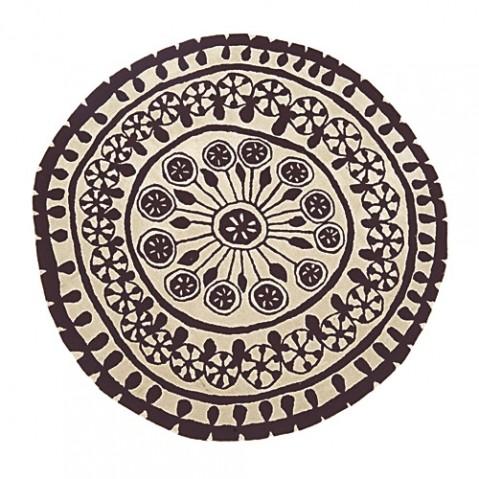 tapis rangoli 200 nanimarquina brun