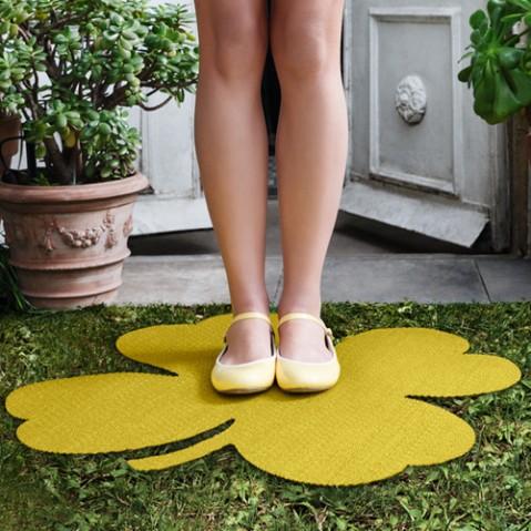 tapis trefle 66 fermob ananas