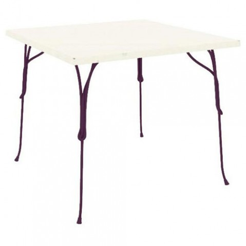 TABLE CARREE VIGNA, 4 couleurs de MAGIS