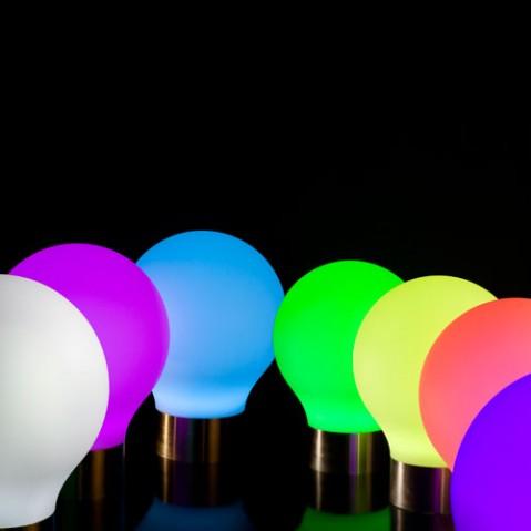 The Second Light Led RGB Sphere Lumineuse Vondom
