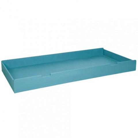 tiroir lit rond laurette turquoise
