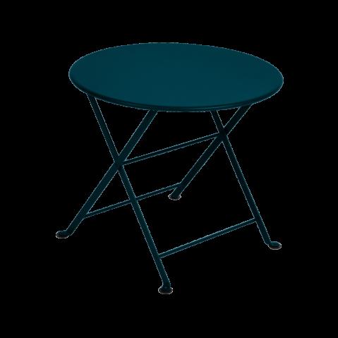 TABLE BASSE ENFANT TOM POUCE, Bleu acapulco de FERMOB