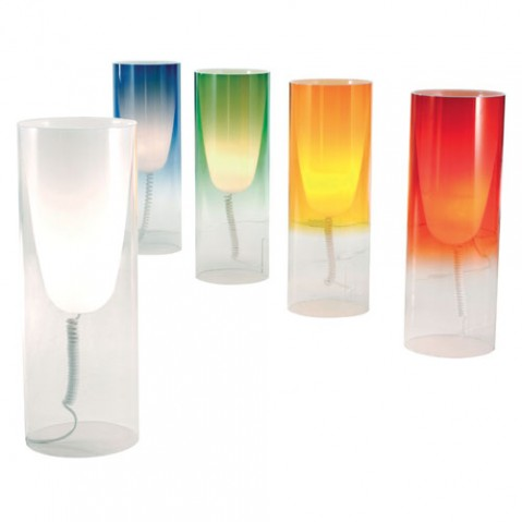 Toobe Lampe à Poser Design Kartell Cristal