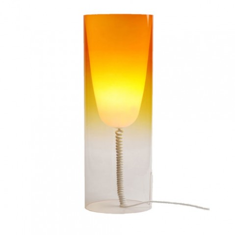 Toobe Lampe à Poser Design Kartell Orange