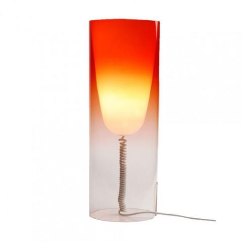 Toobe Lampe à Poser esign Kartell Rouge