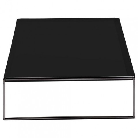 Trays Table Basse 80 x 80 cm Design Kartell Noir