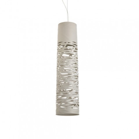 Tress Piccola Suspension Foscarini Blanc