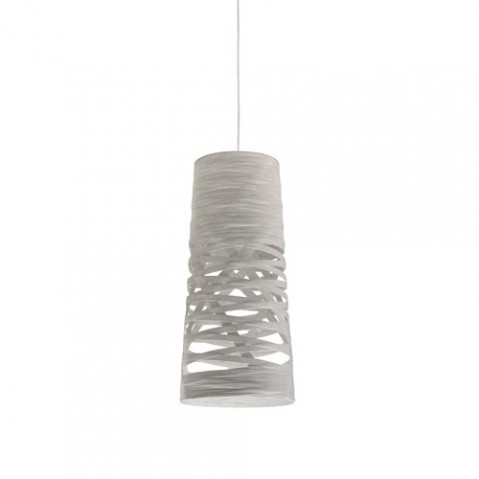 Tress mini suspension foscarini blanc