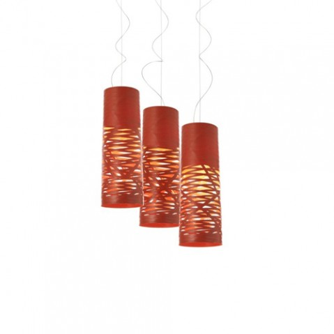 Tress Piccola Suspension Foscarini Noir