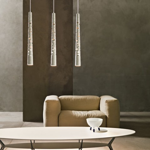 Tress Stilo Foscarini suspension design blanc