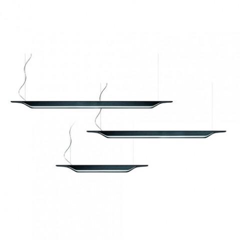 Troag Grande Suspension Design Foscarini Noir