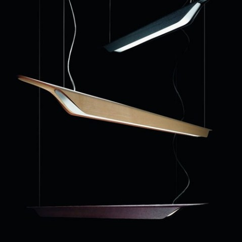 Troag Piccola Suspension Design Foscarini Naturel