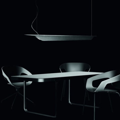 Troag Piccola Suspension Design Foscarini Noir