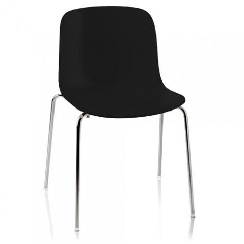 chaise troy polypropylene magis noir