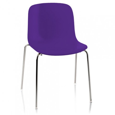 chaise troy polypropylene magis violet