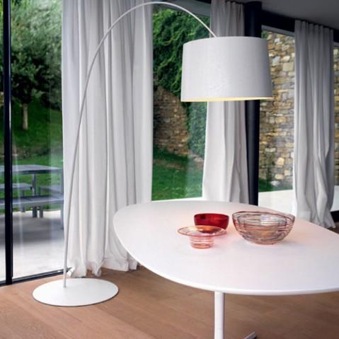 Twiggy Lampadaire Design Foscarini Blanc