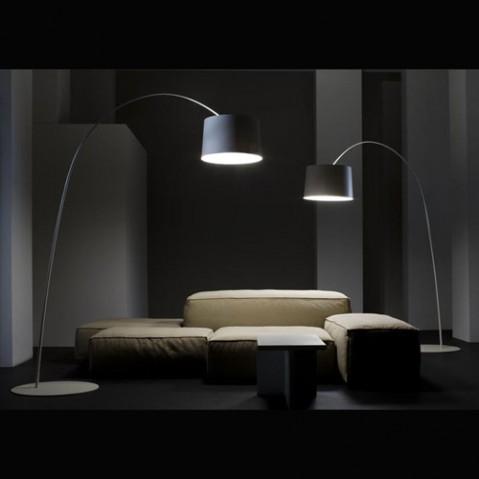 Twiggy Lampadaire Design Foscarini Noir