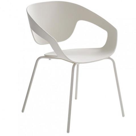 Vad Chaise Design Casamania Blanc blanc