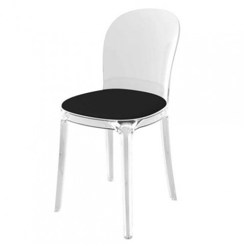 Vanity chair Magis chaise design noir