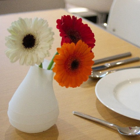 vase blob royal vkb blanc