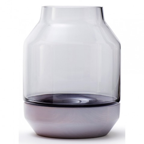 vase elevated muuto gris