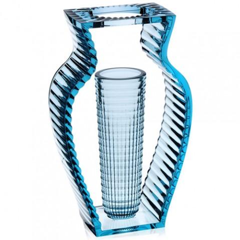 vase i shine kartell bleu