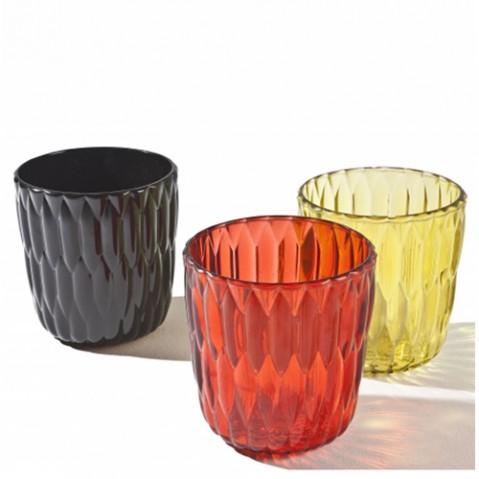 vase jelly kartell jaune