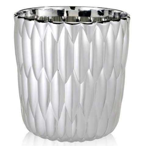 vase jelly metallise kartell chrome