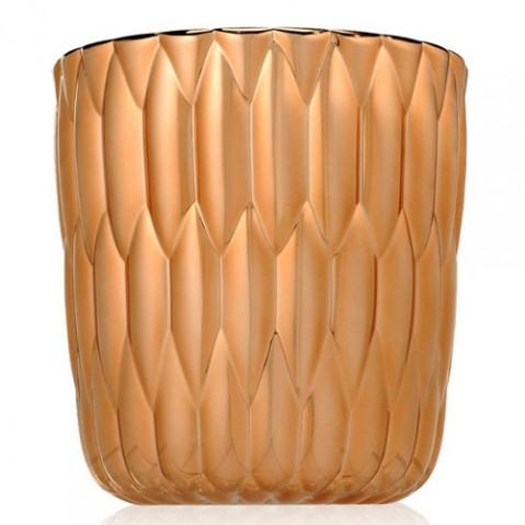 vase jelly metallise kartell cuivre
