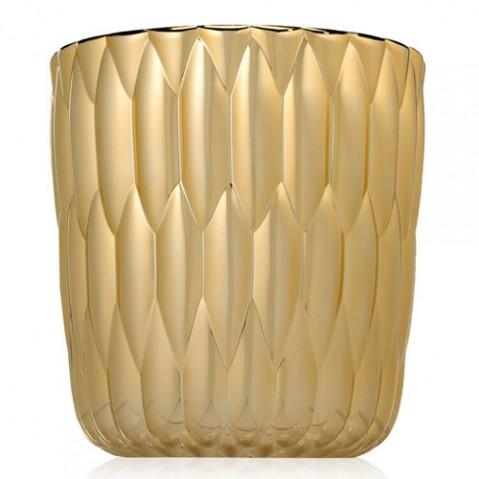 vase jelly metallise kartell or