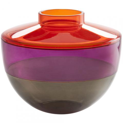 vase shibuya kartell orange rouge gris