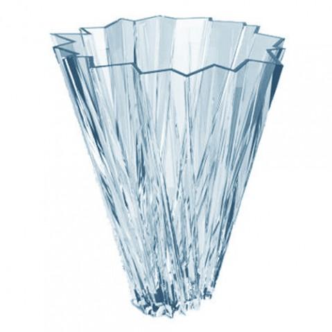 vase shanghai kartell bleu