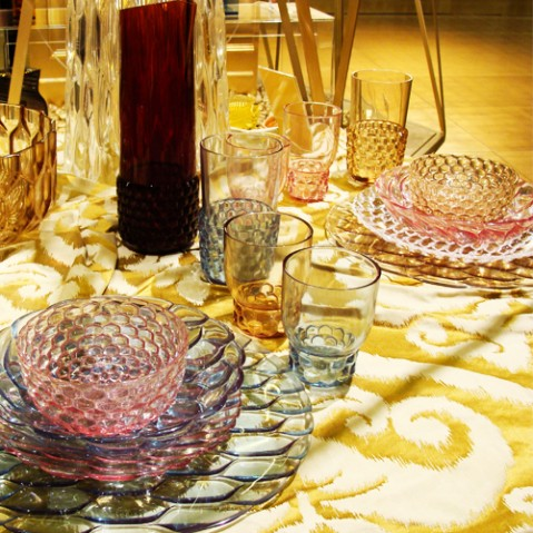carafe jellies family kartell rose