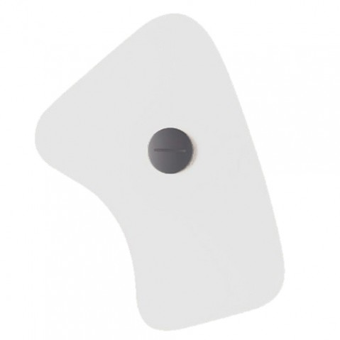 verre orbital 5 foscarini blanc