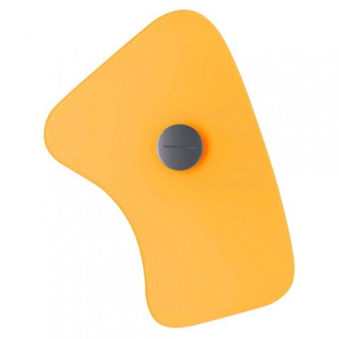 verre orbital 5 foscarini jaune