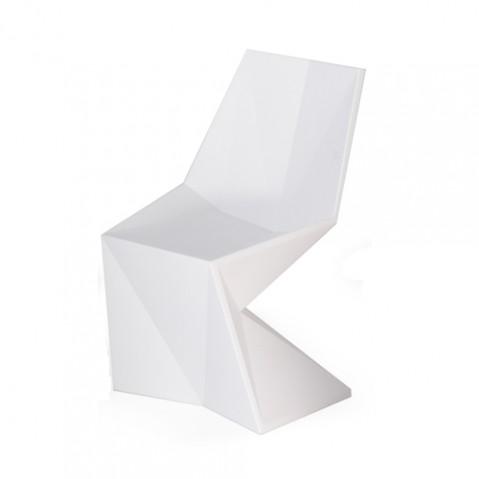 Vertex Silla Chaise Design Vondom Blanc