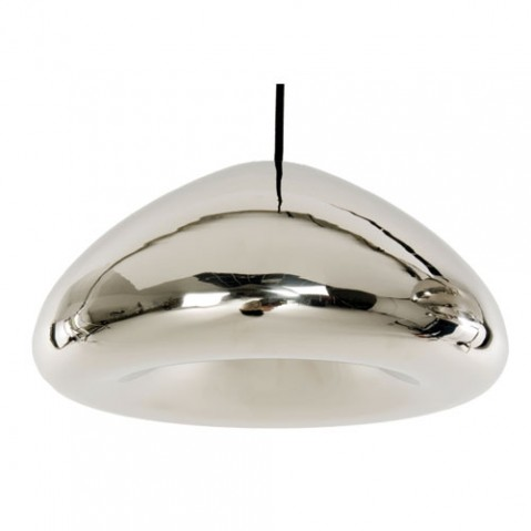 Void suspension Tom Dixon acier