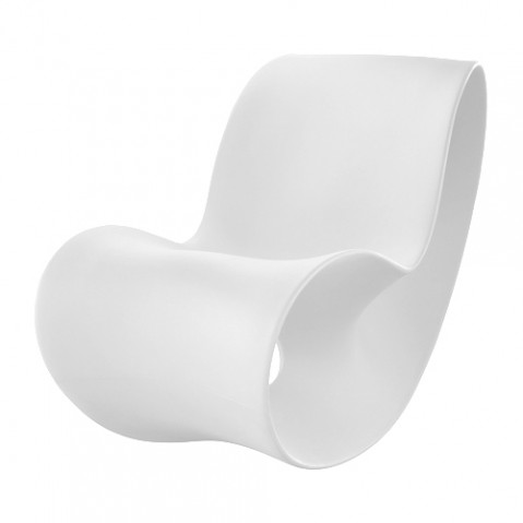 Voido Rocking Chair Magis Blanc