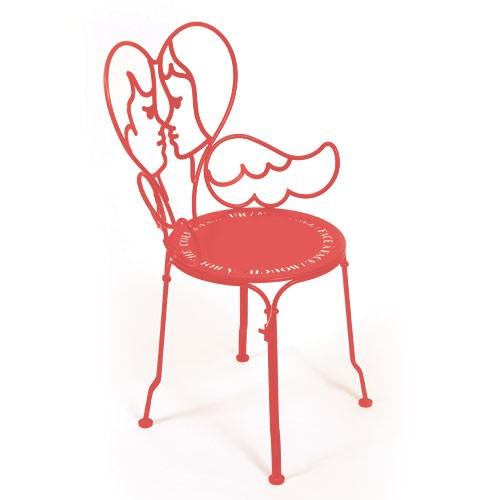 Chaise ange capucine de fermob for Chaise capucine