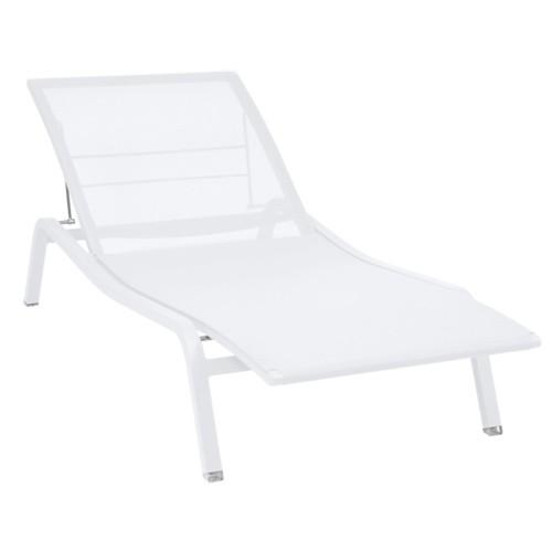 bain de soleil alize blanc de fermob. Black Bedroom Furniture Sets. Home Design Ideas