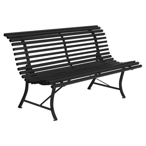 banc louisiane 150 cm r glisse de fermob. Black Bedroom Furniture Sets. Home Design Ideas