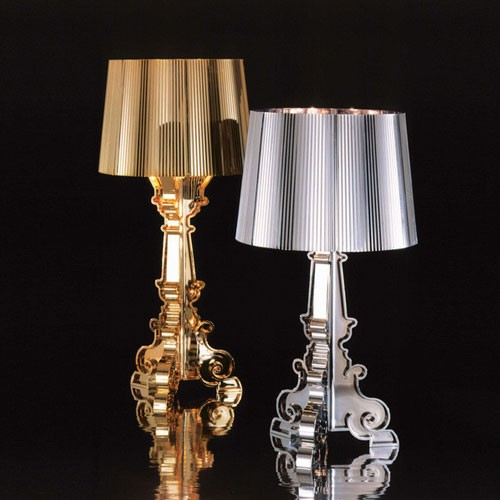 Bourgie Lampe à Poser Design Kartell Or