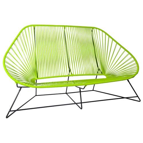 canape acapulco vert anis de boqa. Black Bedroom Furniture Sets. Home Design Ideas