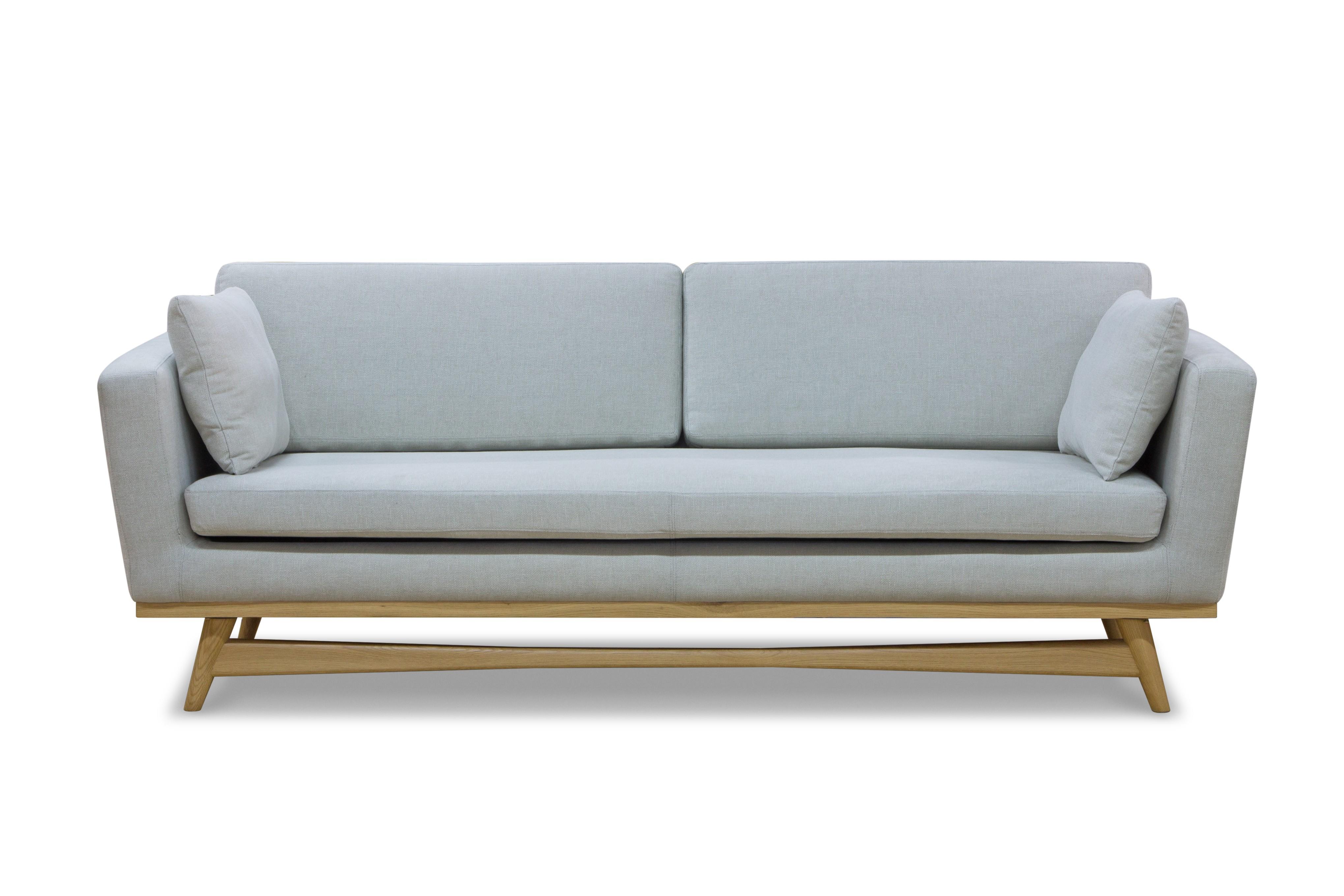 canape fifties 210cm coton craie de red edition. Black Bedroom Furniture Sets. Home Design Ideas