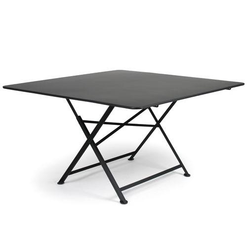 table pliante cargo 130x130cm reglisse de fermob. Black Bedroom Furniture Sets. Home Design Ideas