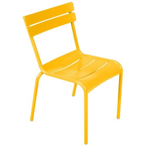 chaise luxembourg kid miel de fermob. Black Bedroom Furniture Sets. Home Design Ideas