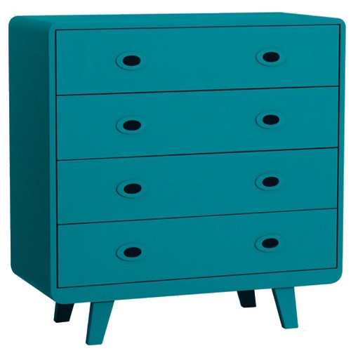 commode toi et moi bleu canard de laurette. Black Bedroom Furniture Sets. Home Design Ideas