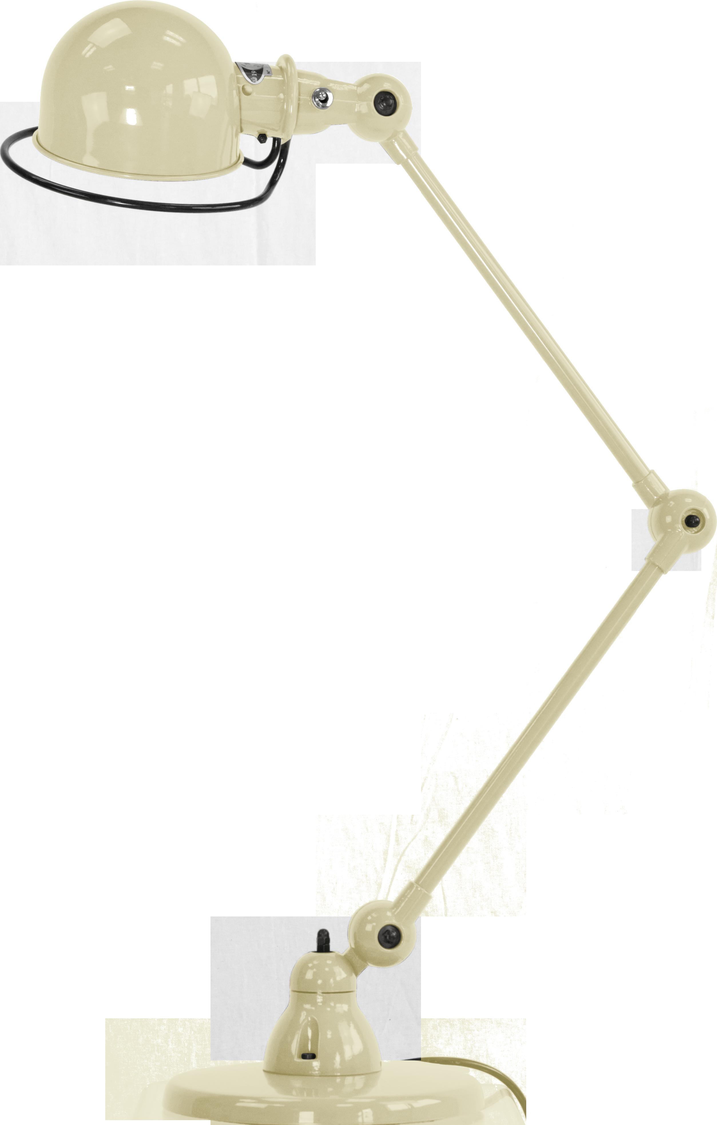 LAMPE A POSER LOFT D6440 DE JIELDÉ, IVOIRE